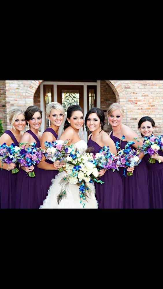 VESNA wedding & event weddings in Poland www.vesna.pl | Peacock wedding