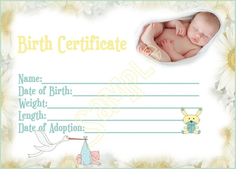 New Arrival Reborn Baby Doll Birth Certificate Instant Etsy In 2021 Birth Certificate Template Birth Certificate Baby Birth