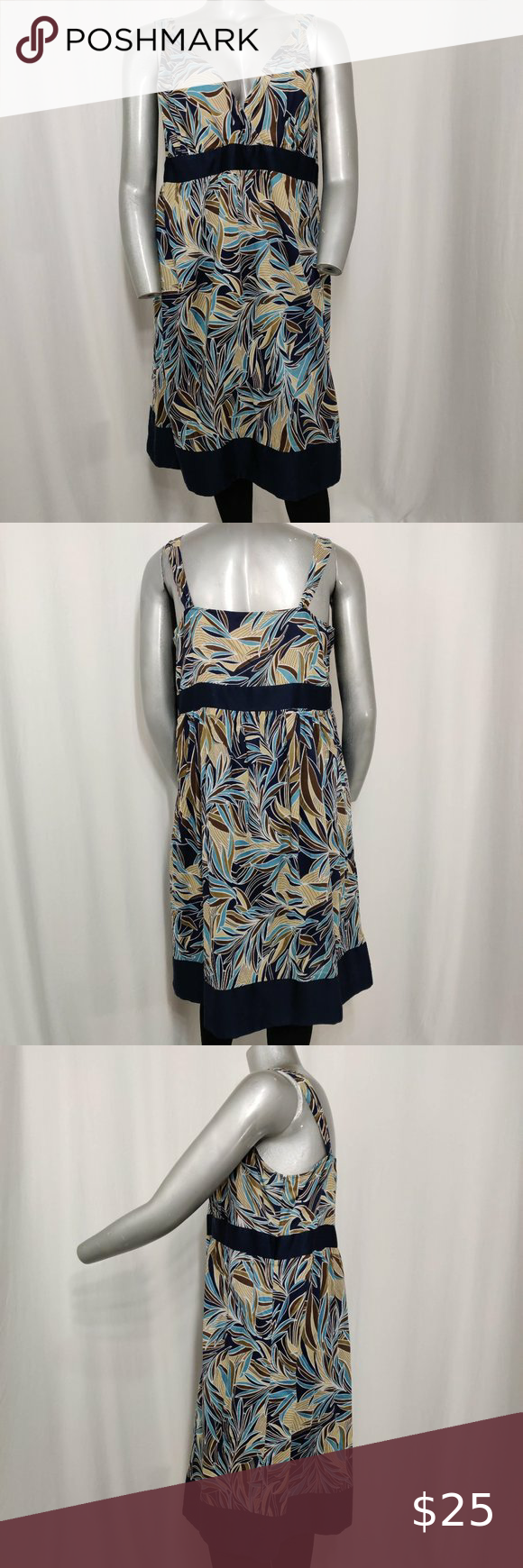 Avenue Cotton Summer Dress Empire Vneck Print Xxl In 2020 Cotton Dress Summer Empire Dress Summer Dresses [ 1740 x 580 Pixel ]
