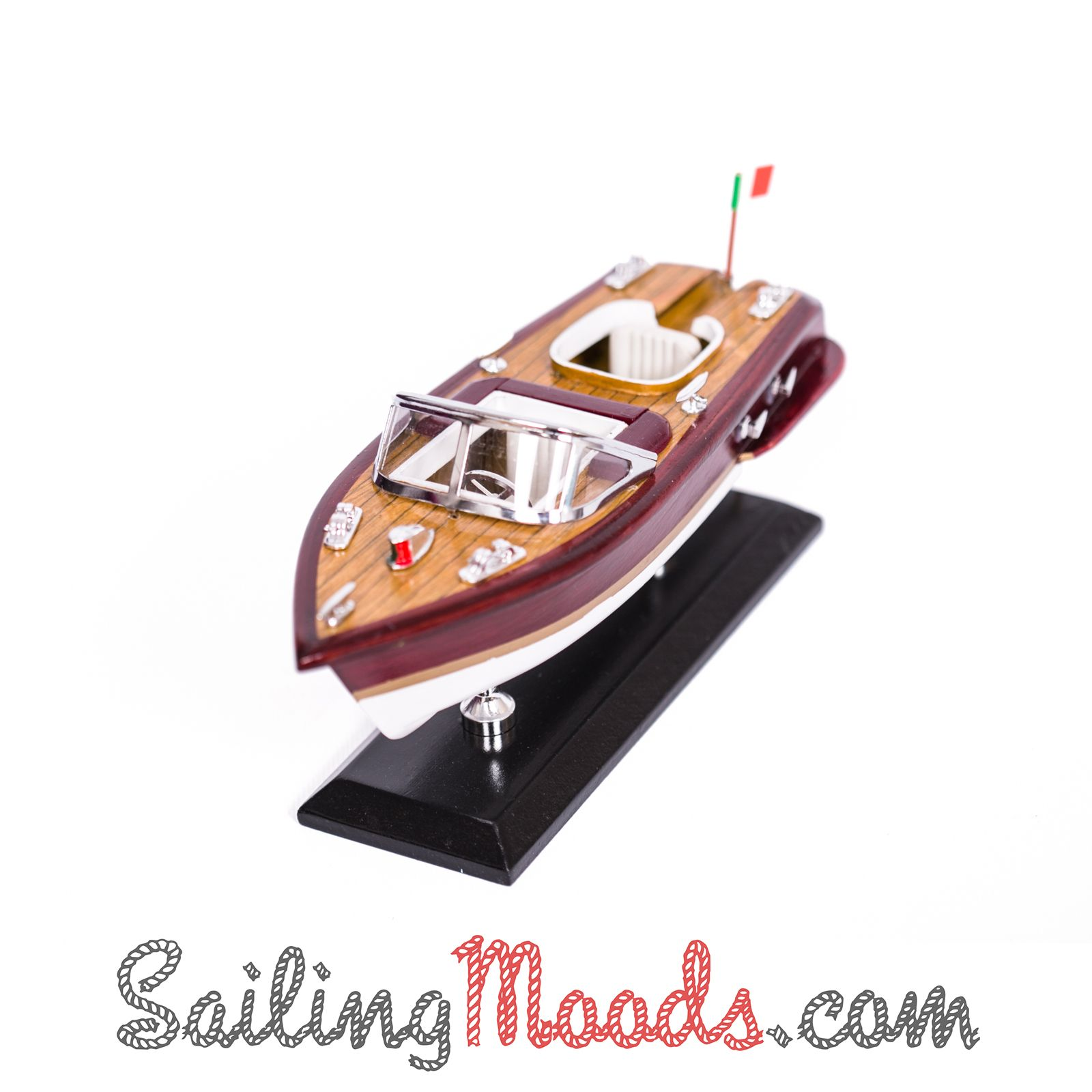 Nautical gifts for the home - Model Speedboat Length 35 Cm Http Sailingmoods Com En Modeldecor Nauticalgifts