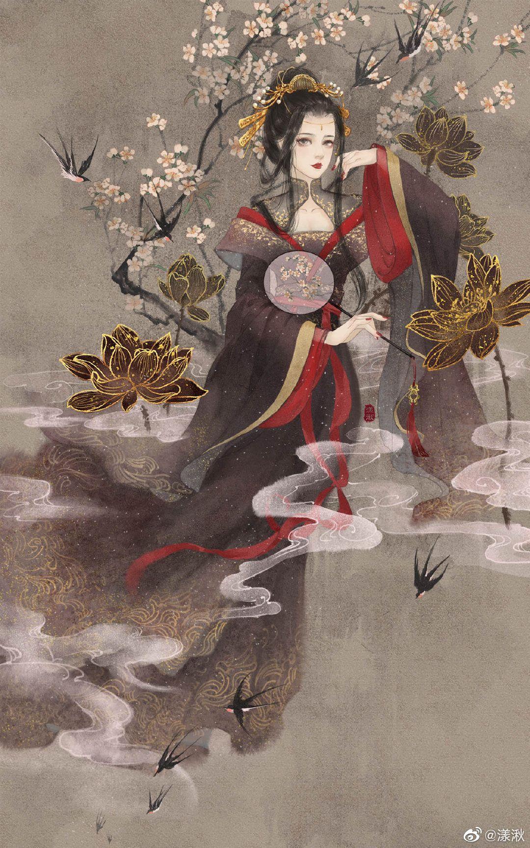 Ghim của Nicholas Dangmei trên Chinese art girl trong 2020