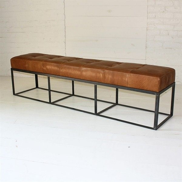 See this and similar Cisco Brothers benches - Cruz leather bench ...