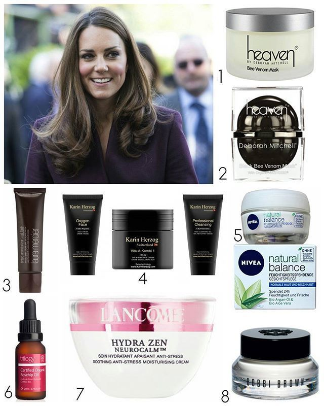 The Duchess of Cambridge's skincare products :: 1. Heaven Bee Venom Mask~ The mask first came to Ka