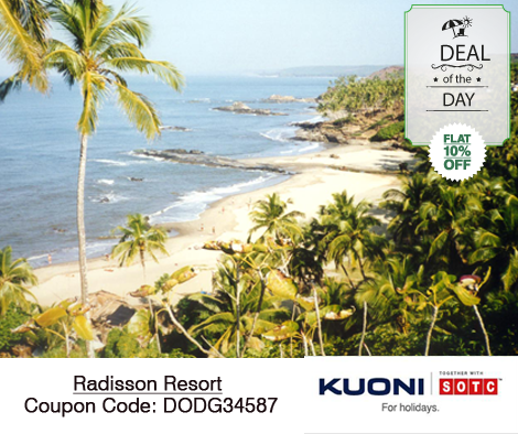 #KuoniSOTCDealOfTheDay at the Tourist Paradise: #Goa. Impressive coastline, extraordinary cultural heritage, natural wonders and the long list of things to do make Goa a must visit in any season.