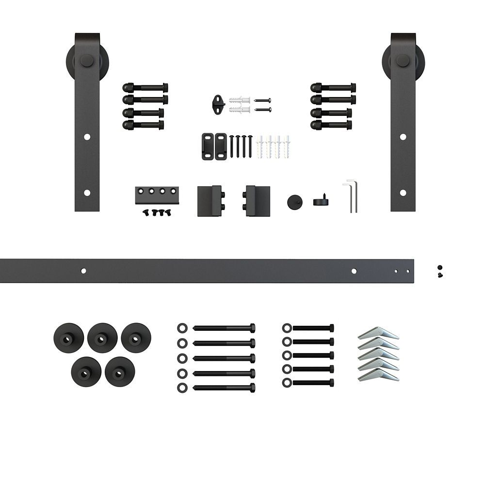 Sliding Door Track And Hardware Kit Exterior Door - Barn Door Track Canada