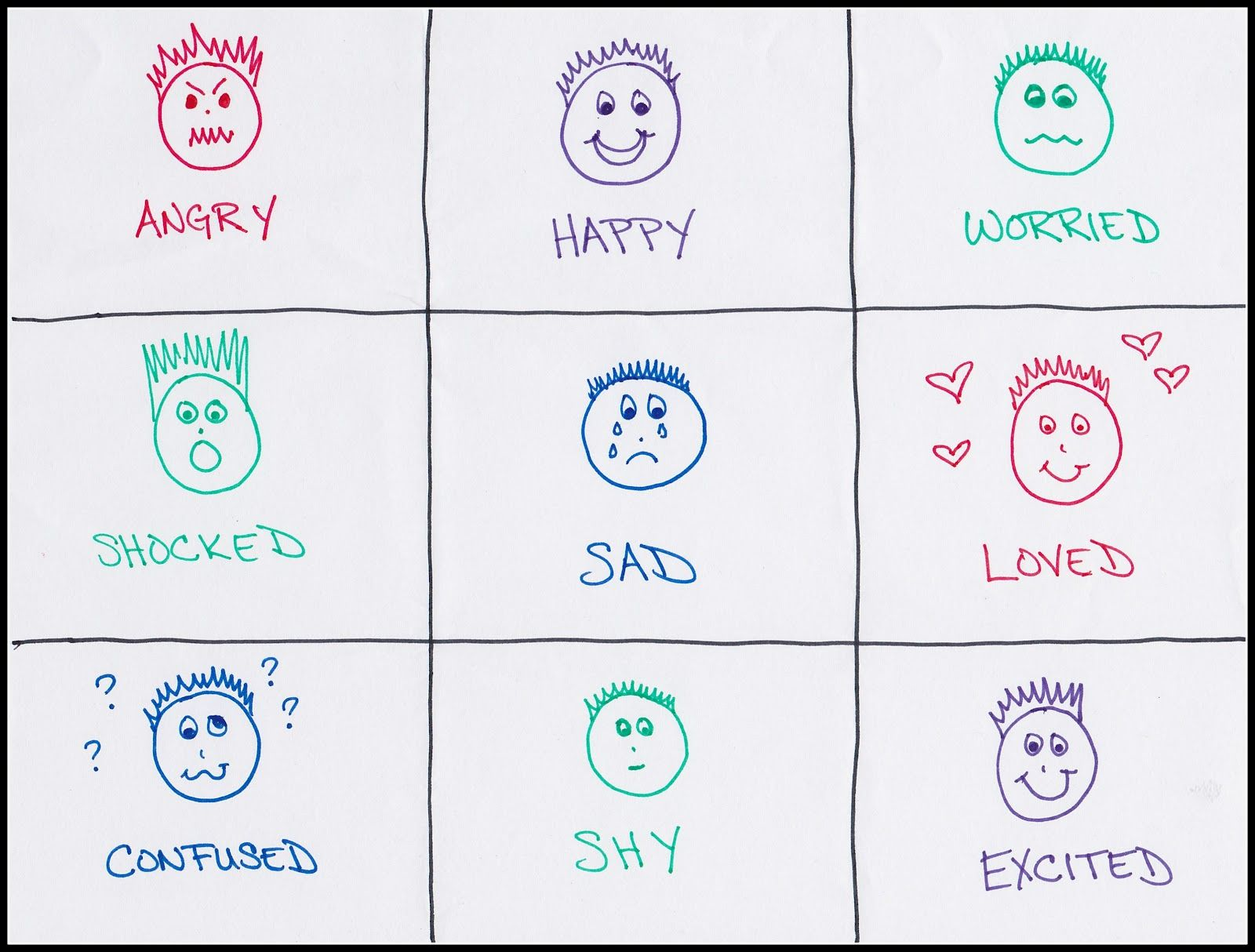 Feelings Games With Images