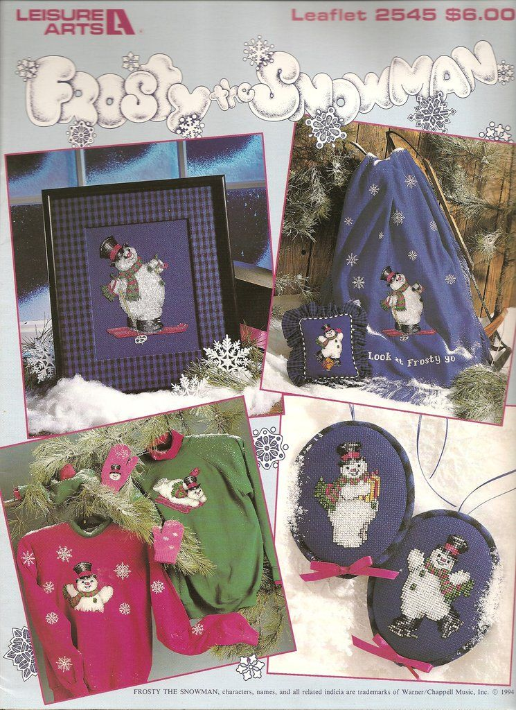 Frosty the Snowman booklet