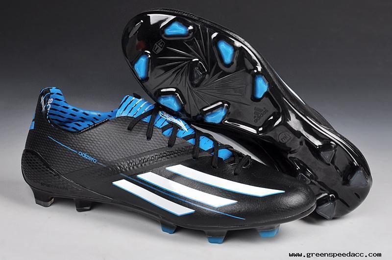 2014 world cup adidas f50 adizero trx fg black blue white