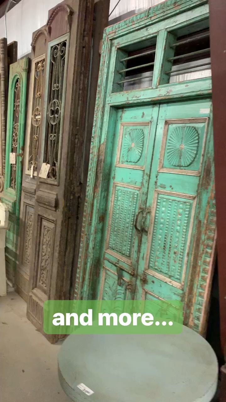 Antique doors - 4th of five videos in first buildi