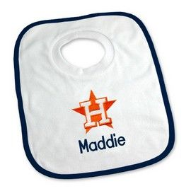 Houston astros personalized pullover bib houston astros at designs houston astros personalized pullover bib houston astros at designs by chad jake personalized baby gifts negle Gallery