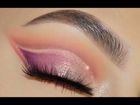 Purple Cut Crease Eyeshadow Tutorial