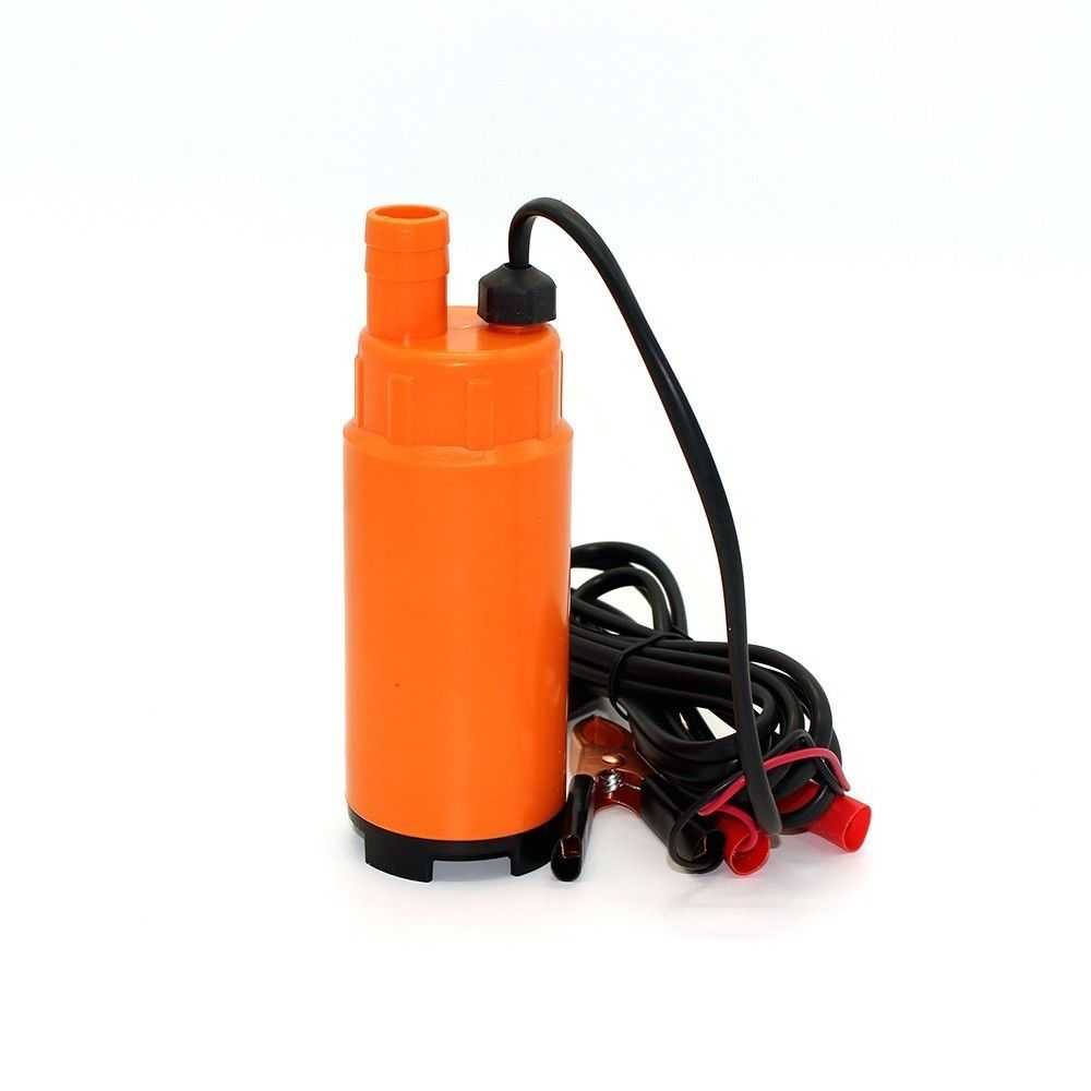 Dc 24v 30l Min 19mm Hose Plastic Submersible Electric Bilge Pump For Diesel Oil Water Fuel Transfer With Switch 24 V Volt 24vo Oil Water Diesel Oil Electricity