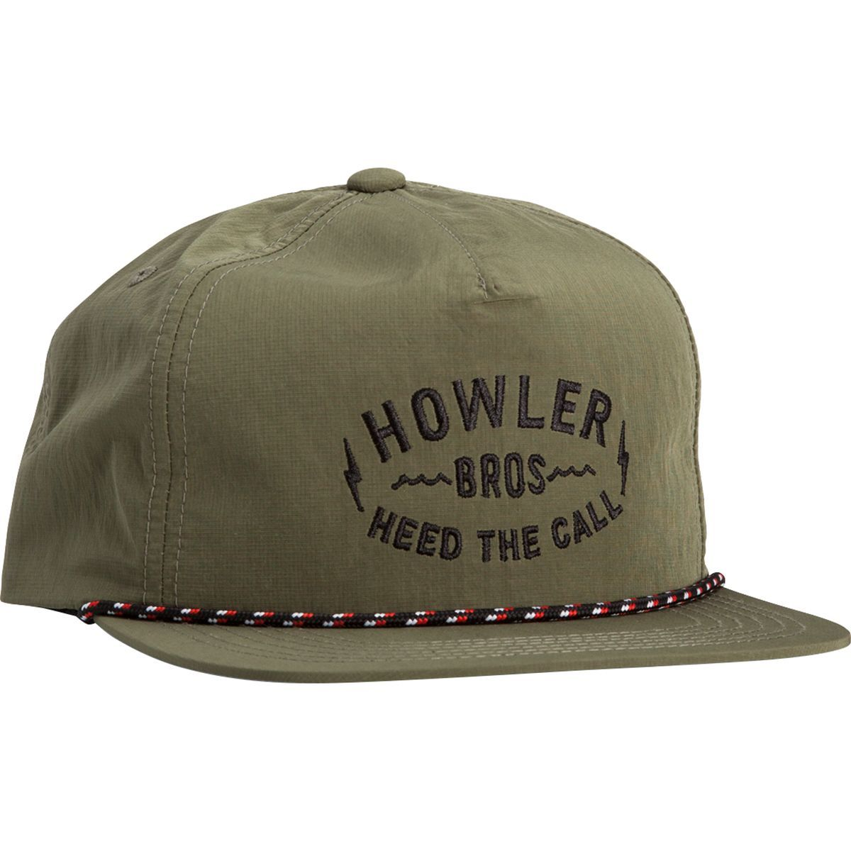 Howler Brothers Painted Howler Snapback Hat Snapback Hats Hats Snapback