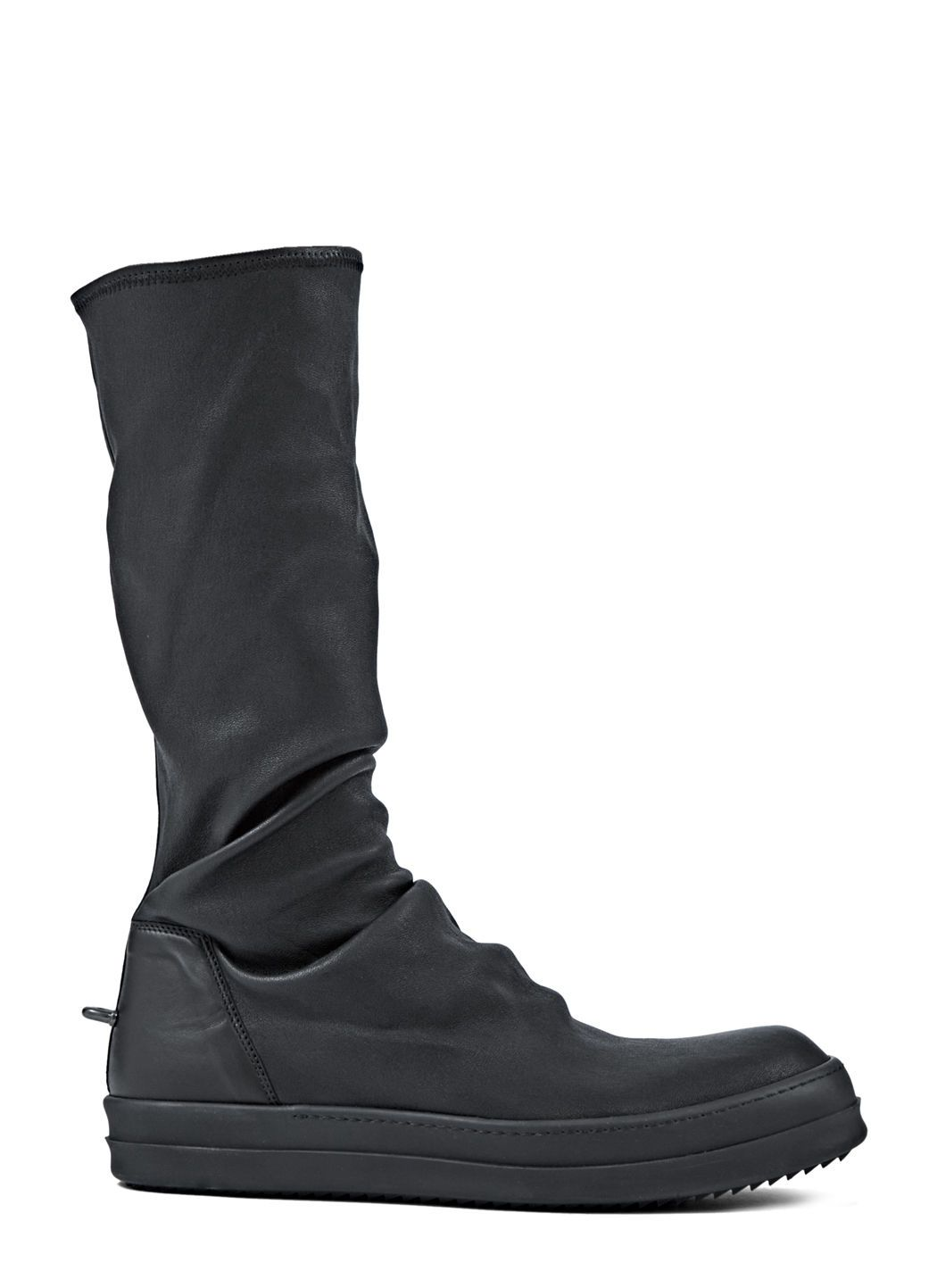 Leather STRETCH BOOT Fall/winterRick Owens ZlTZ9