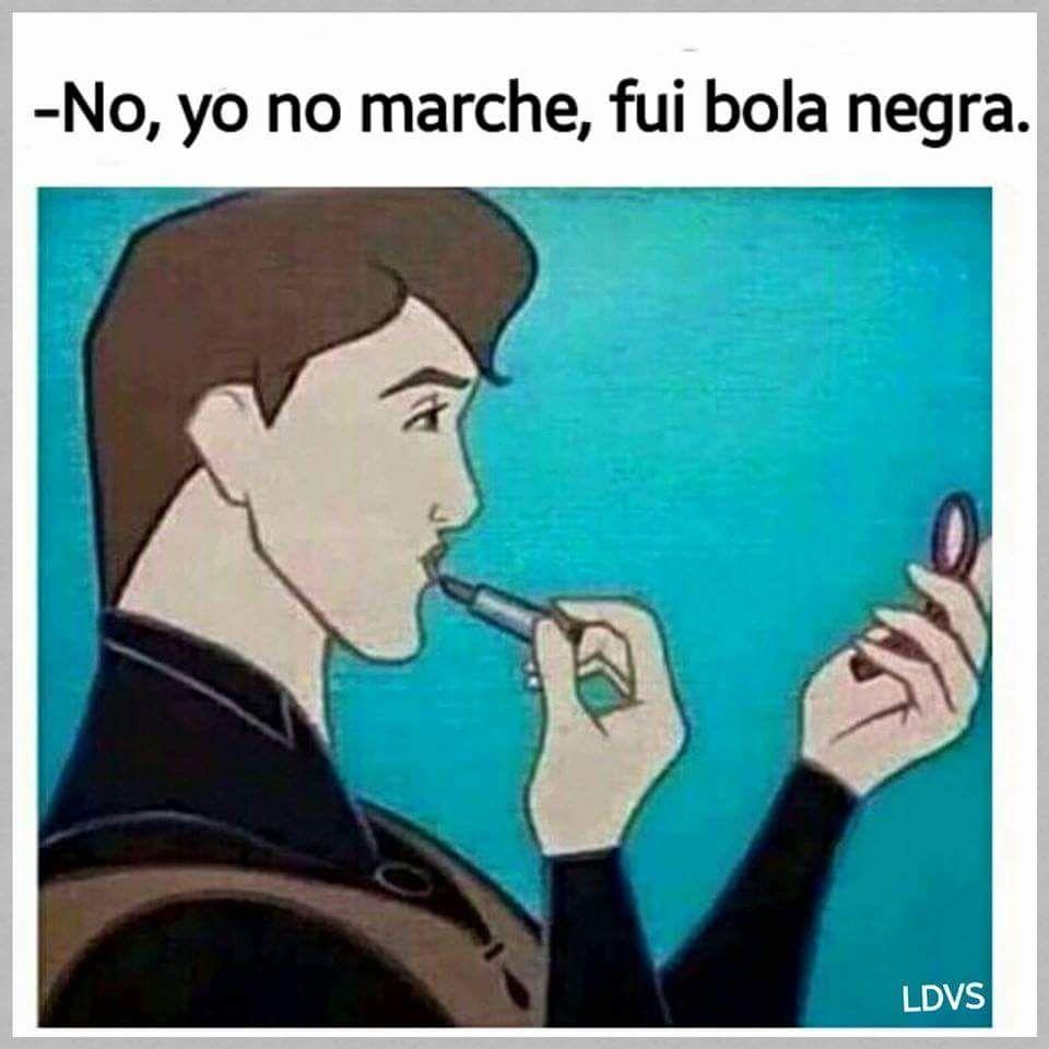 #meme #cartilla #bola #negra