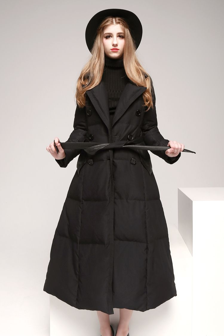 891dcfc977b Women-s-Long-Down-Coat-Fit-and-Flare- More