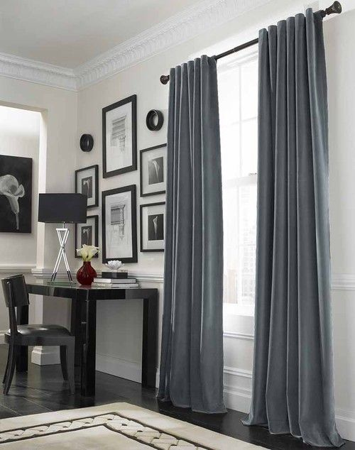 Messina Opulent Velvet Curtains With Monochromatic Color
