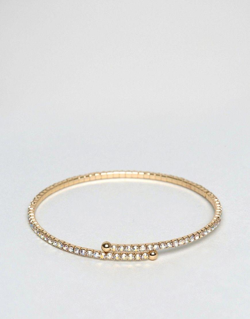 Bracelet Manchette Fin De Balle - Asos D'or Ug6gWb