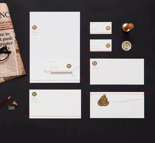 Personal branding for an international business man by BOND. #stitching