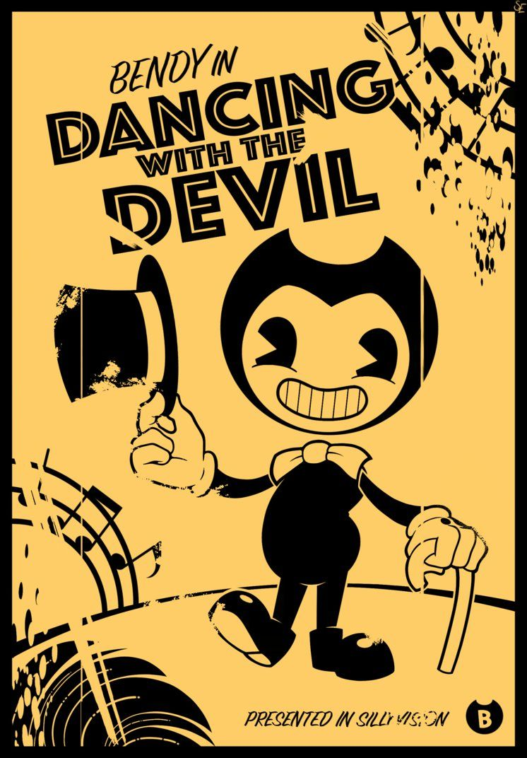 Pin Em Bendy And The Ink Machine