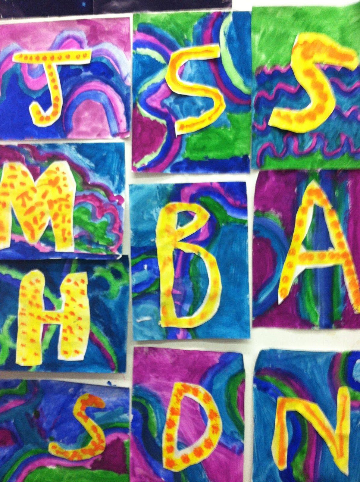 Art at East!: Initial Art - First Grade