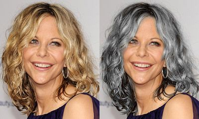 Best Hair Color: Natural Or Grey? : Hair Color | TheHairStyler.com ...