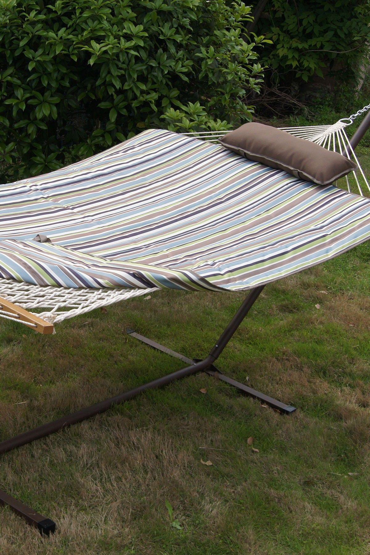 ft multi hammock u stand set with pad u pillow love itwant