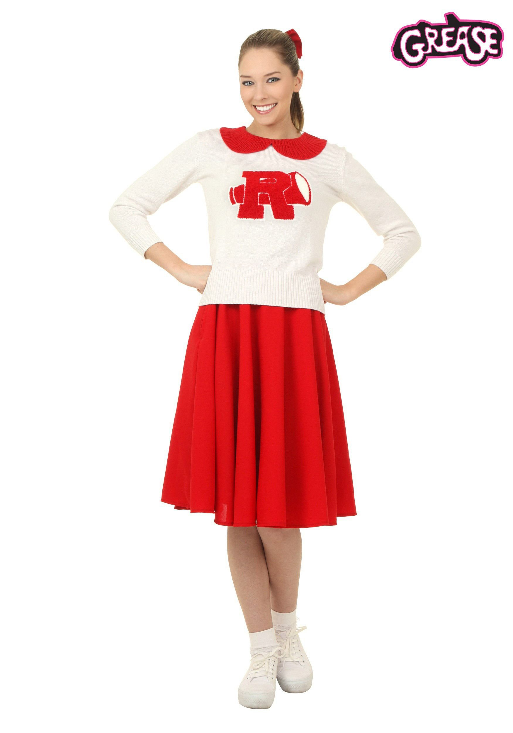 Women's Grease Rydell High Cheerleader Costume ...