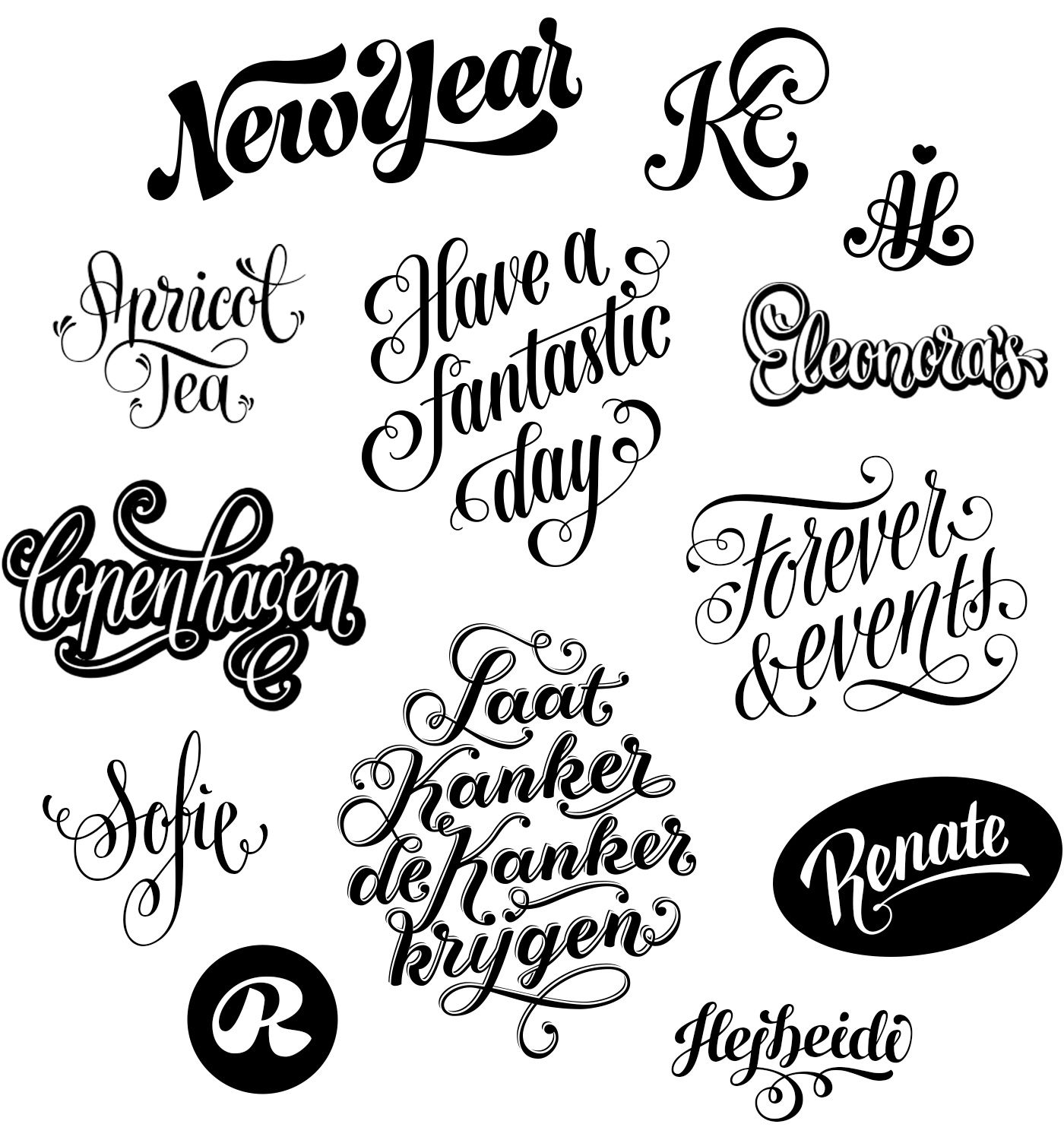 Lettering, Logos And Hand Lettering On Pinterest | Hand lettering