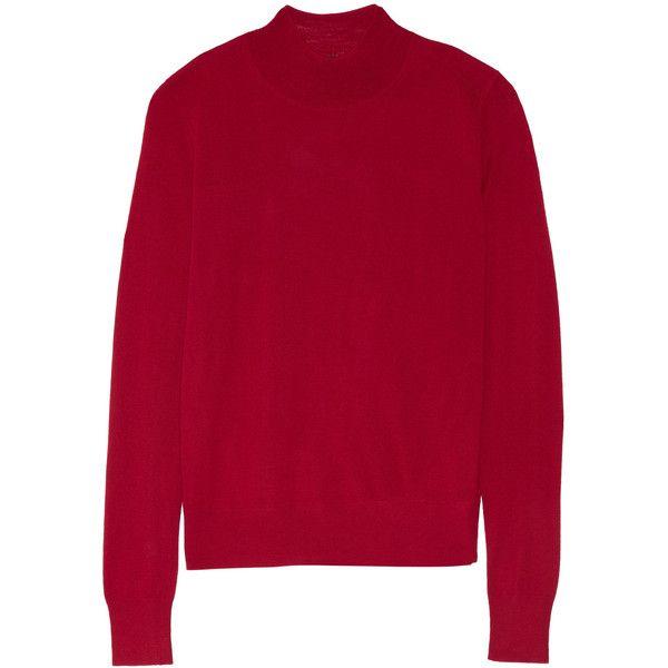1f5fe8c20534 Theory - Sallie Merino Wool Sweater (5.875 RUB) ❤ liked on Polyvore ...