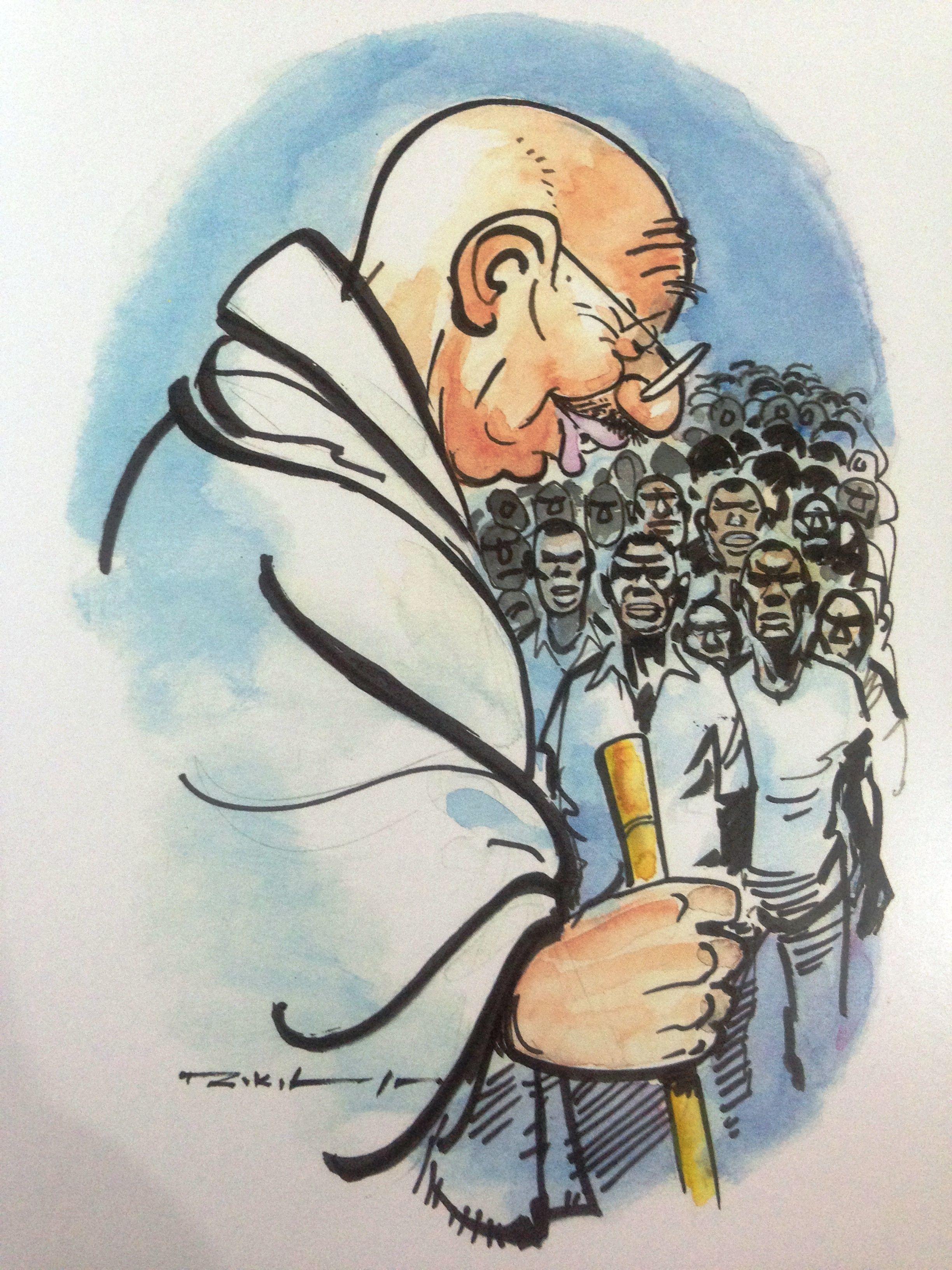 Mahatma Gandhi In