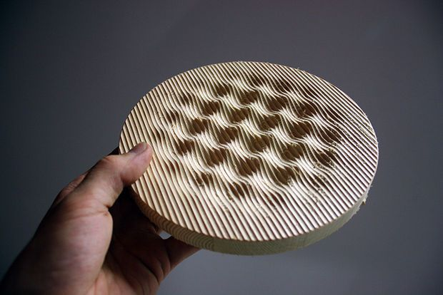 Make Awesome 3D Geometry by Programming CNC-code | CNC