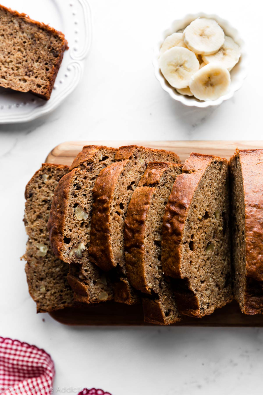 This healthy whole wheat banana bread is 100% whole wheat ...