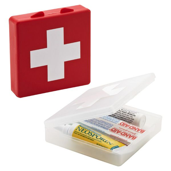 Travel First Aid Box Mini Version Good To Have In Bag Or Purse First Aid First Aid Supplies Container Store
