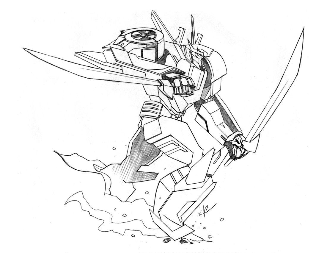 The Bad Flip Blog Transformers Prime Wheeljack Sketch