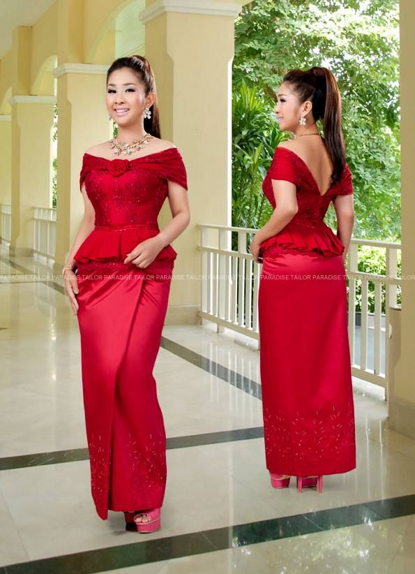 Khmer Traditional Dress African Fashion Dresses