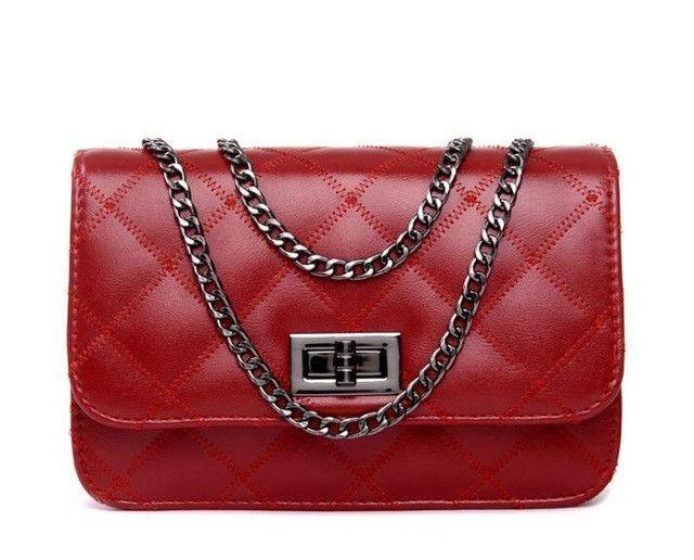 Mini Women Messenger Bags 2017 High Quality PU Leather Women Handbag Design Famous Brands Luxury Classical Women Bag C0391/l