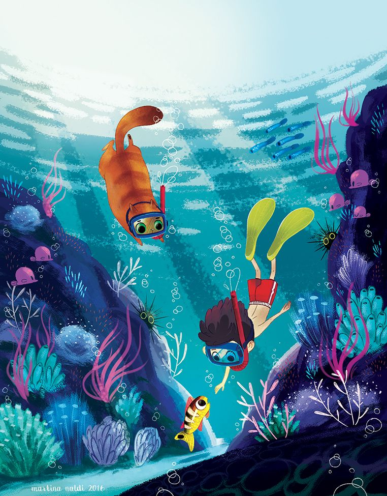 Underwater on Behance … (With images) Art inspiration