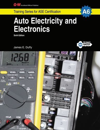 Auto Electricity Electronics A6 G W Training Series For