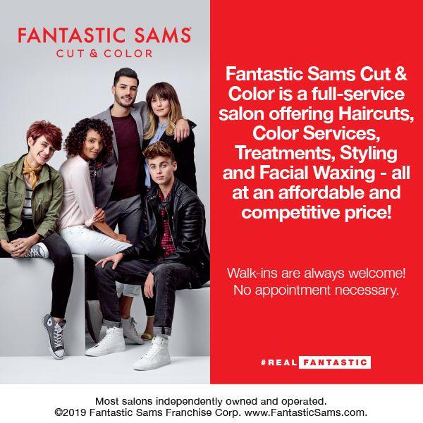 Fantastic Sams Westminster Co Fantastic Sams Hair Stylist Life Facial Waxing Full Service Salon