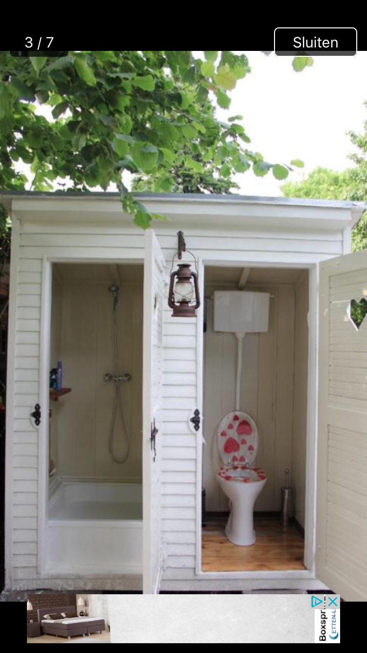 Pin By Ina Baty On Tiny 8 Outdoor Bathroom Design Outdoor Toilet Outdoor Bathrooms