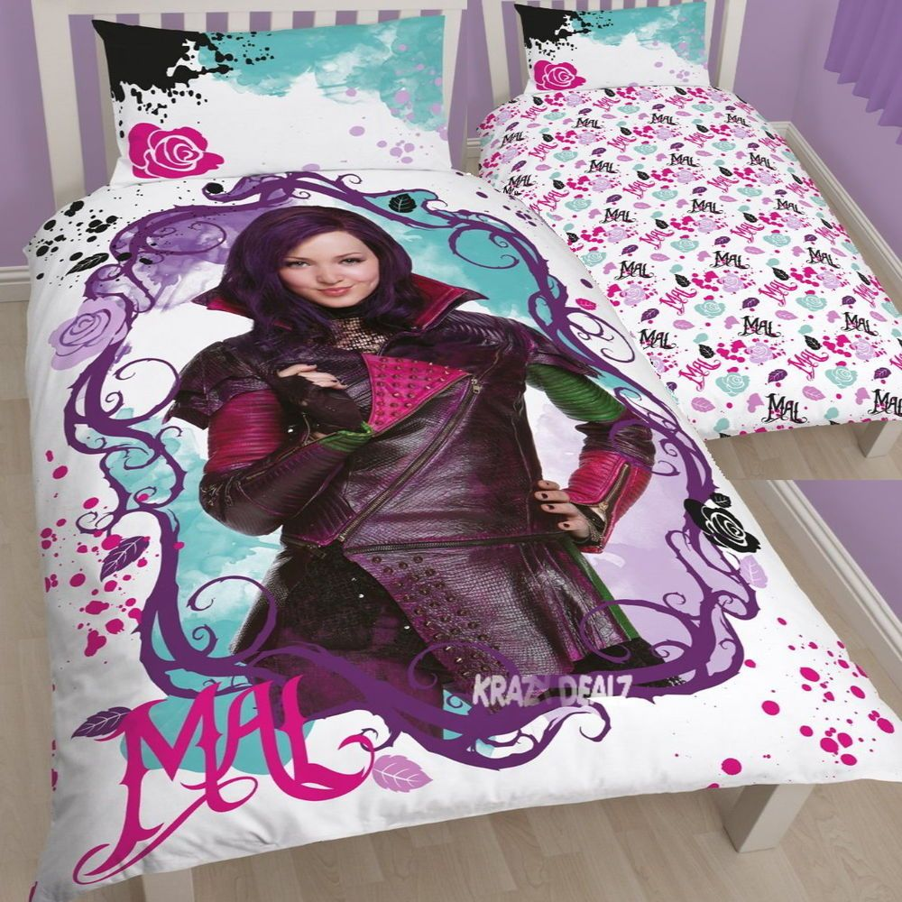Disney Descendants Single Duvet Cover Bed Set Liv Amp Maddie