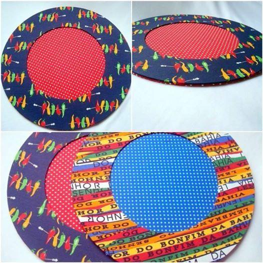 Sousplat Pimentas - http://www.munayartes.com/search/label/Sousplat