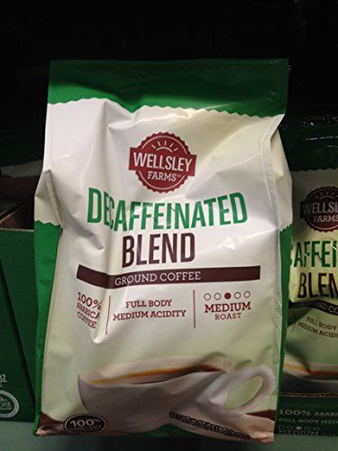 Wellsley Farms decaf ground coffee 40 oz pack of 2 *** Check