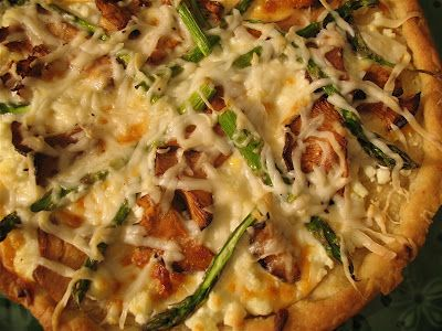 Love Me Some Asparagus And Cheddar Pizza Food Cooking Pizza Kebab