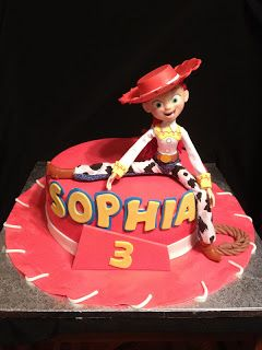 Toy Story Jessie S Hat Cake With Images Toy Story Birthday