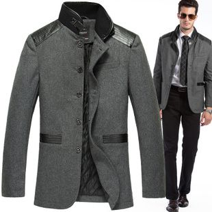 Fall and winter clothes men's wool coat long paragraph men wool ...