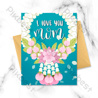 Over 1 Million Creative Templates By Pikbest Mothers Day Card Template Happy Thanksgiving Day Card Template