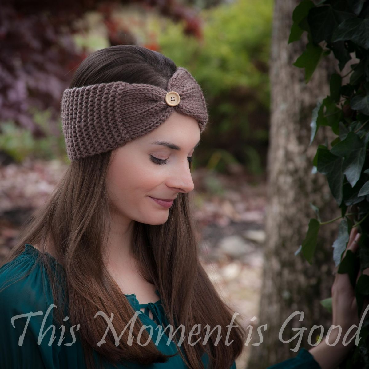 Loom Knit Headband, Ear warmer Pattern, Free. | Loom knitting ...