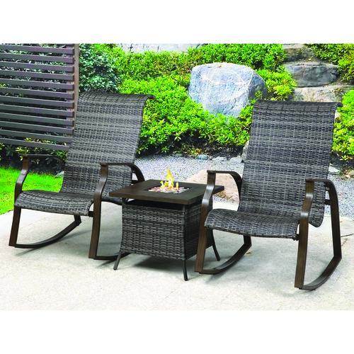 Backyard Creations® Mayfair Collection 3Piece Fire Patio
